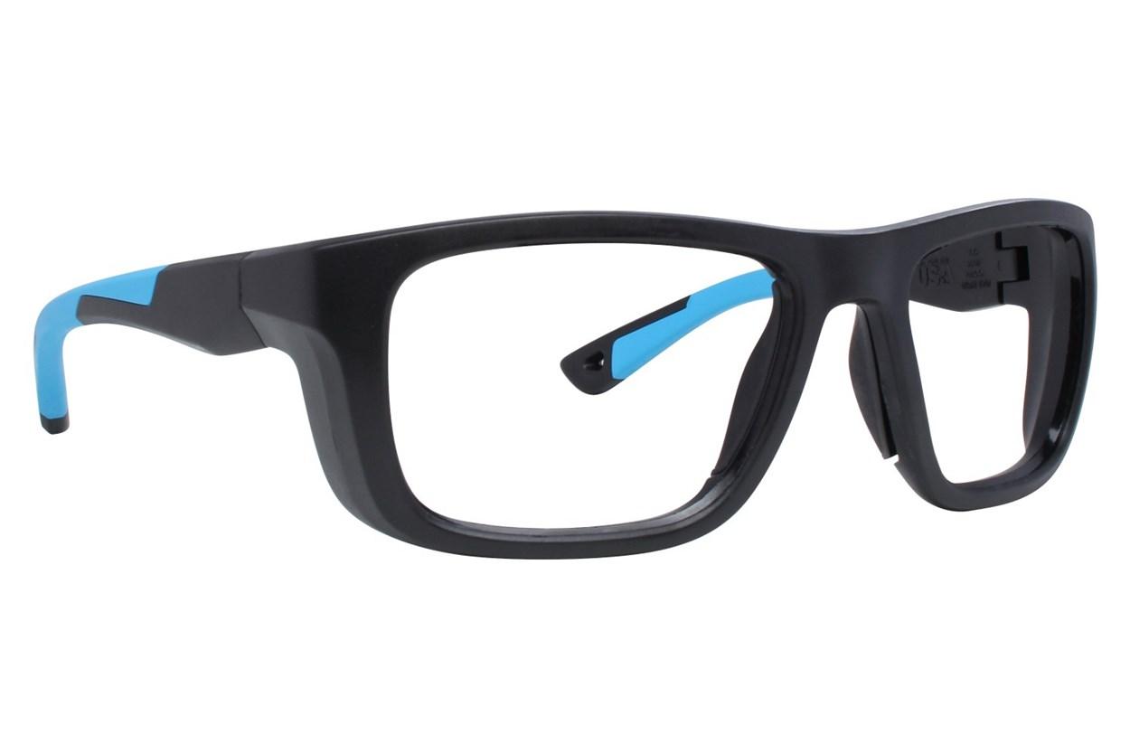 OnGuard US 120FS Safety Glasses Black Eyeglasses