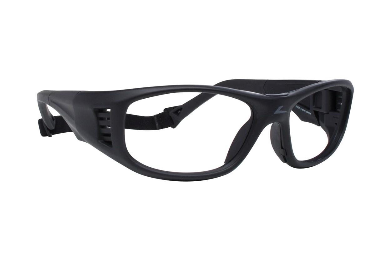 OnGuard OG 240S Safety Glasses Black Eyeglasses