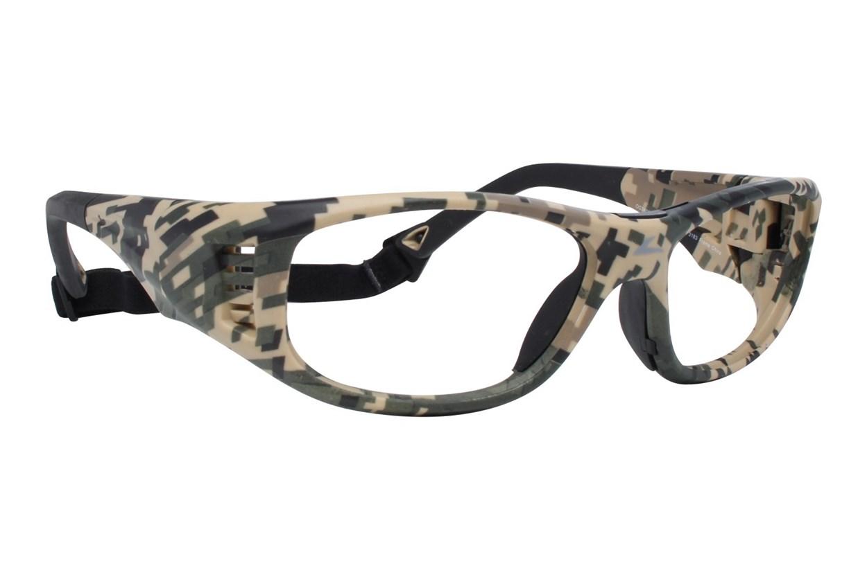 OnGuard OG 240S Safety Glasses Green Eyeglasses