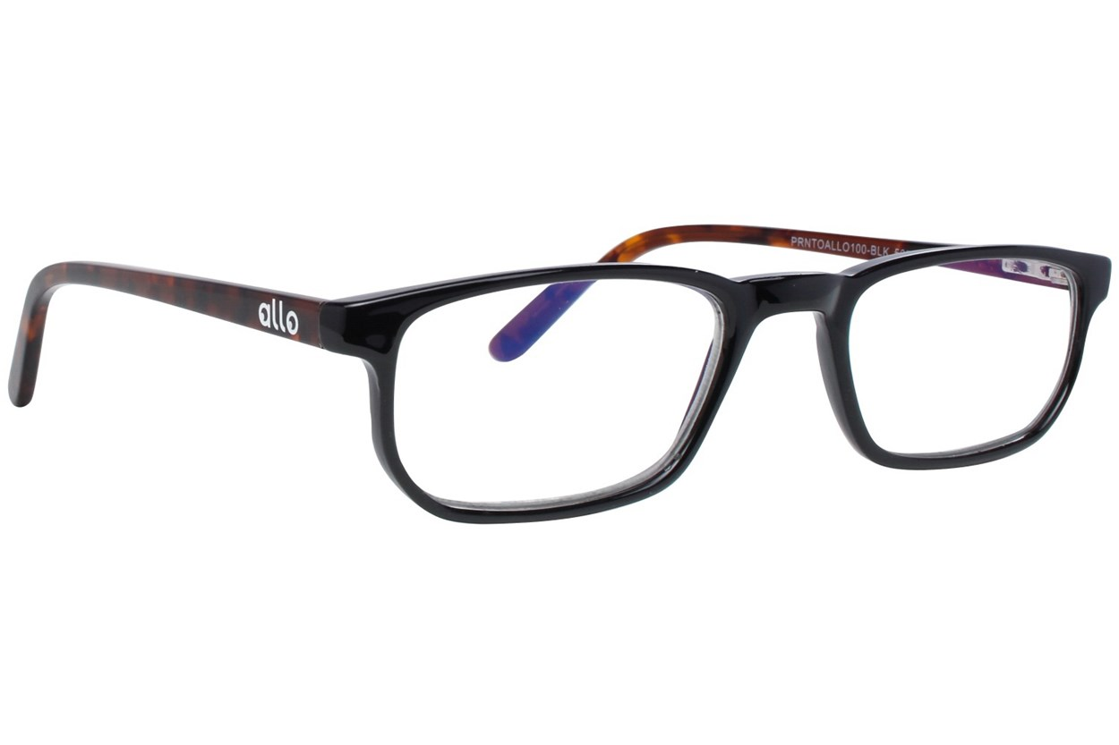 allo Prnto Reading Glasses Black