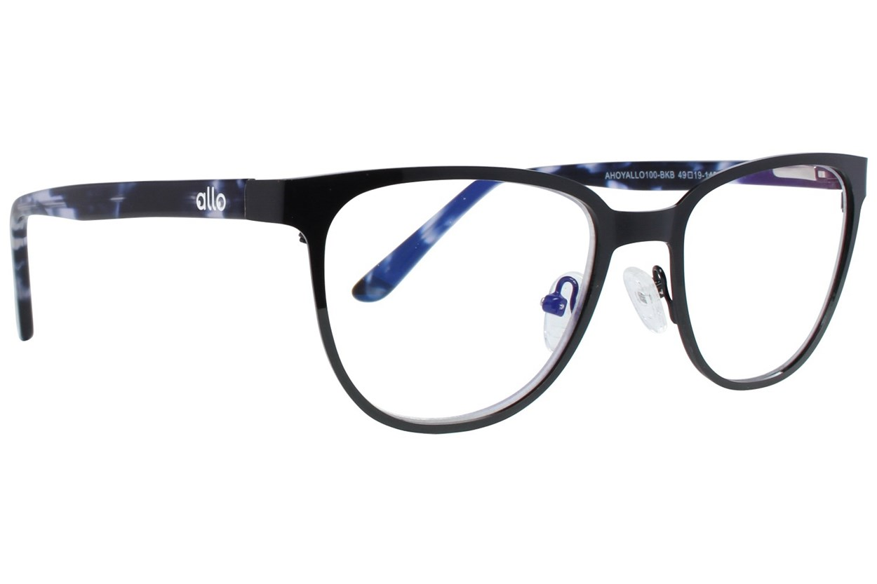 allo Ahoy Reading Glasses Black
