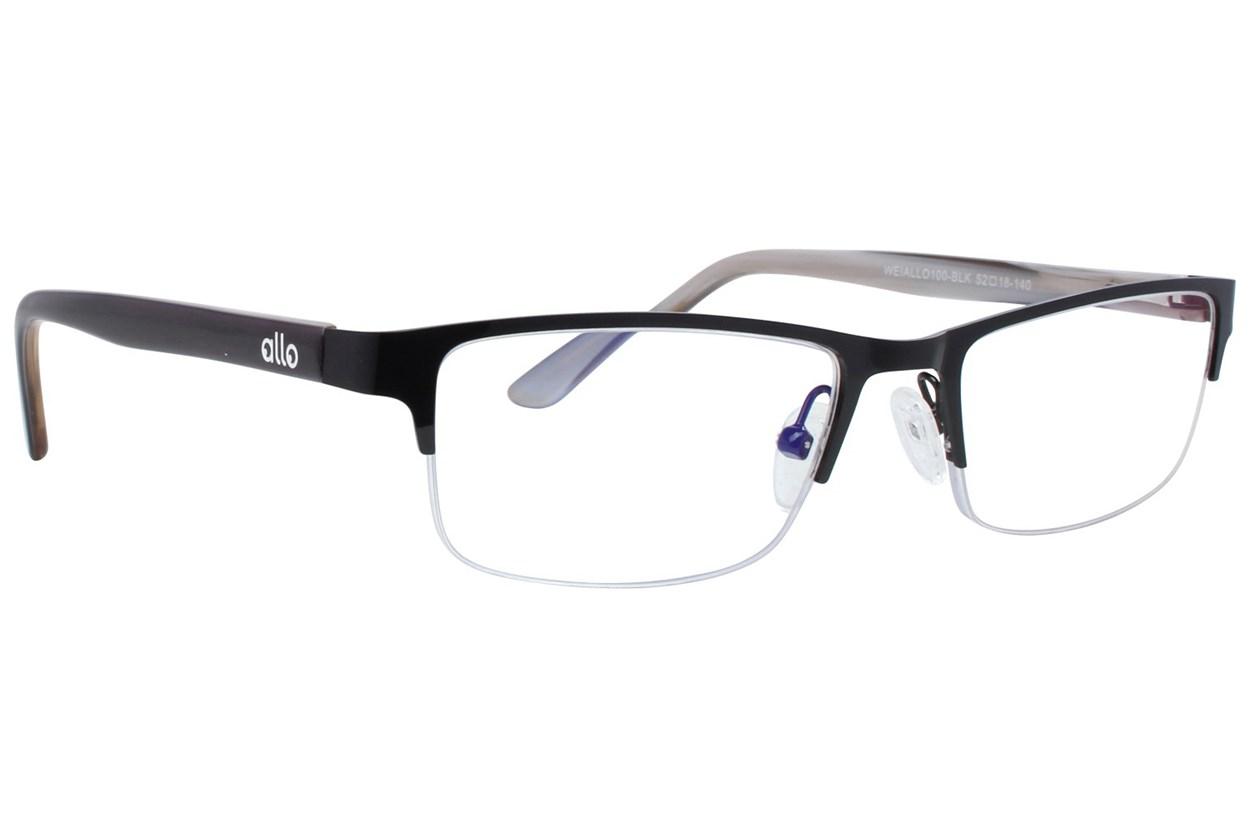 allo Wei Reading Glasses Black