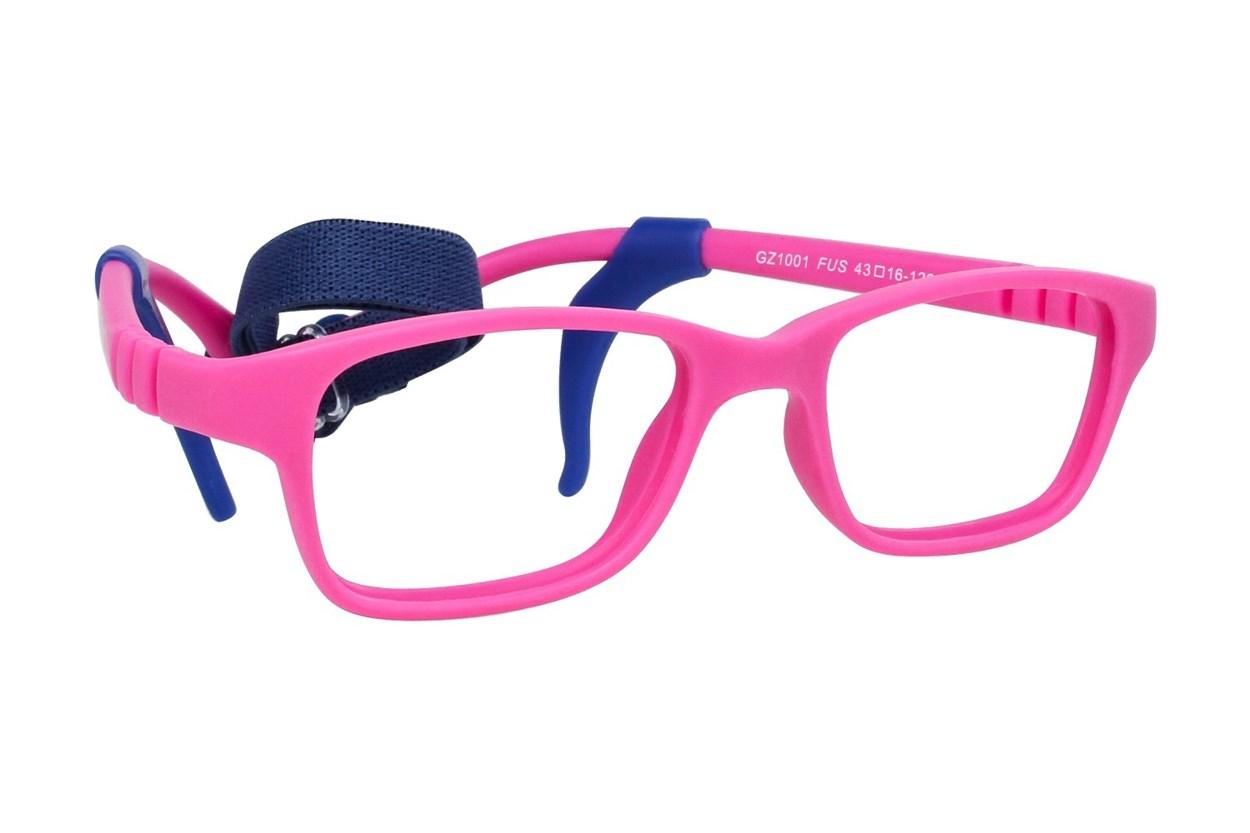 Gizmo GZ1001 Pink Eyeglasses