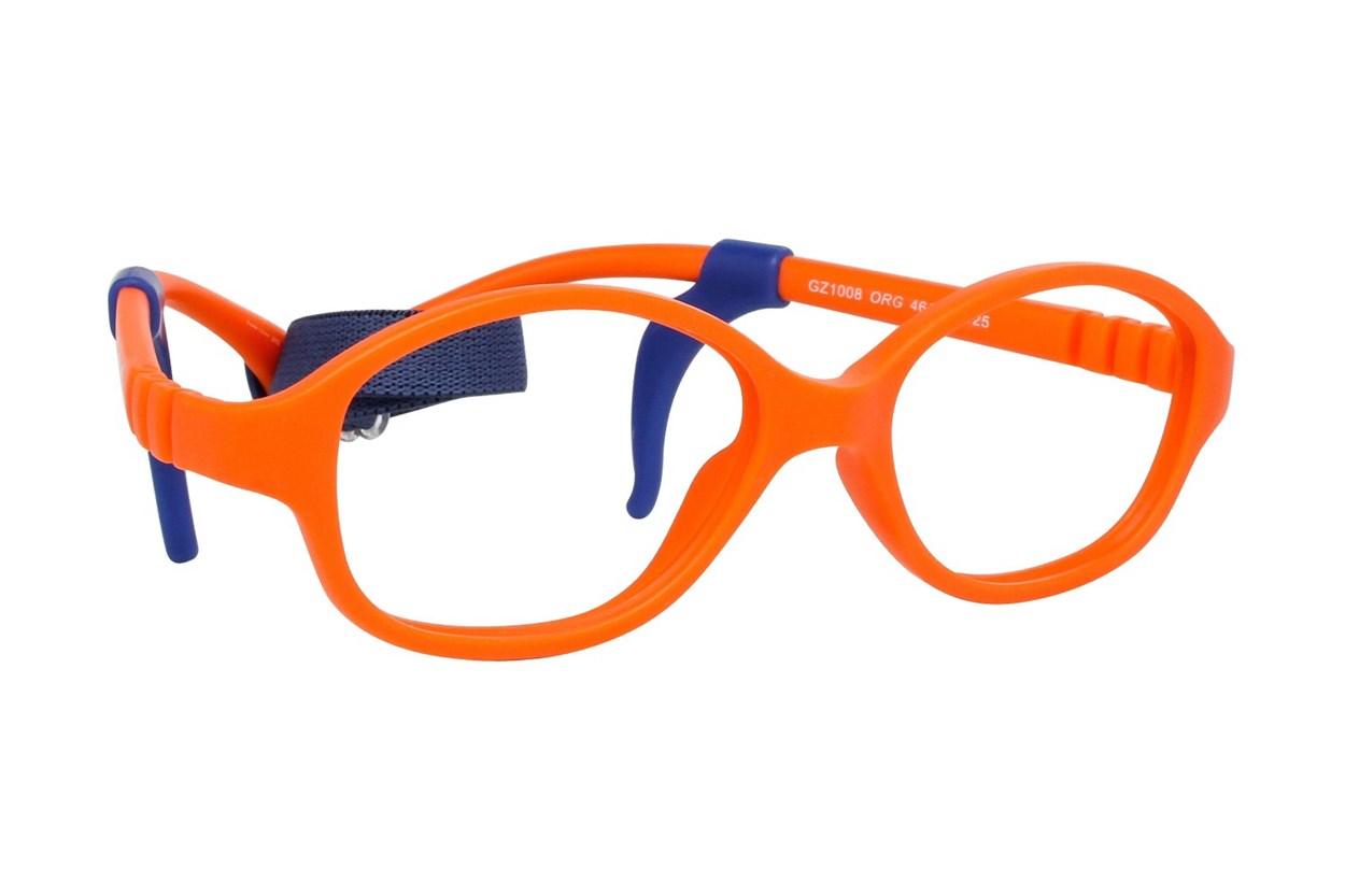 Gizmo GZ1008 Orange Eyeglasses