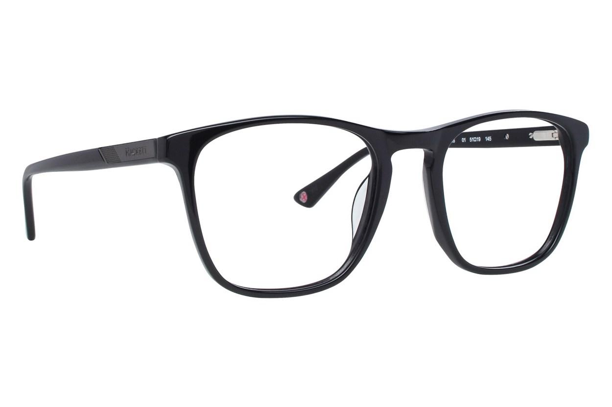 Hackett London Large Fit HEK1215 Black Eyeglasses