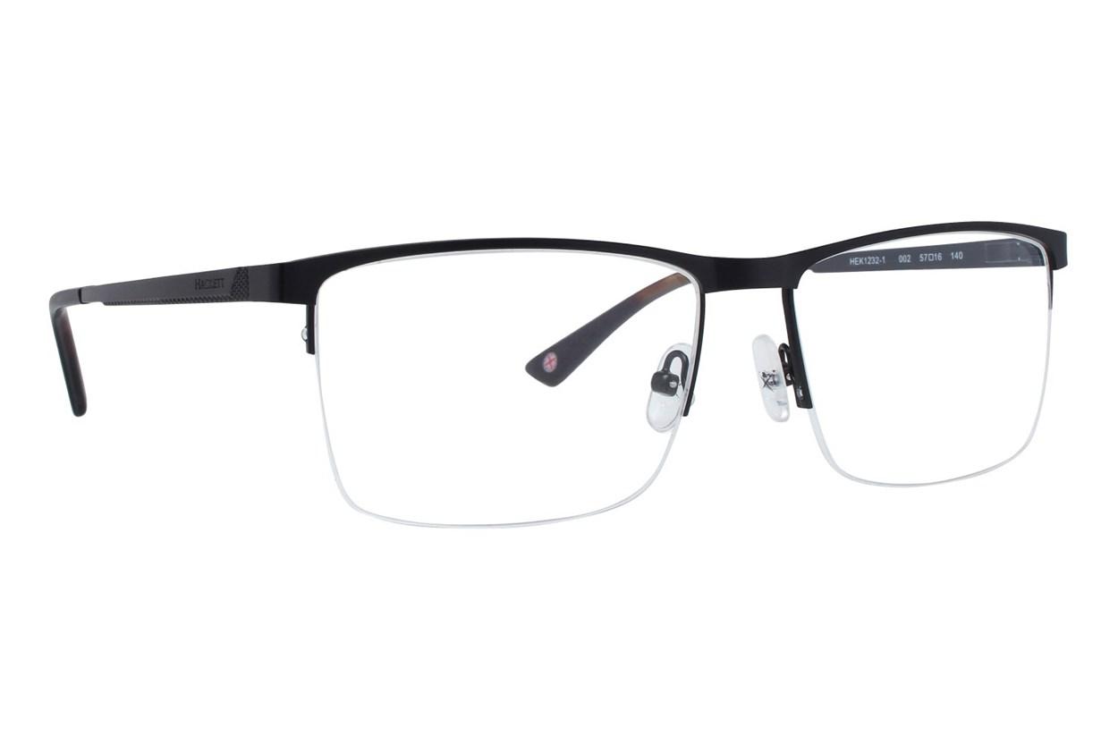 Hackett London Large Fit HEK1232 Black Eyeglasses