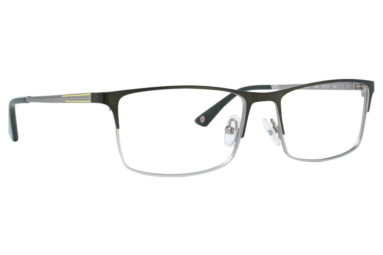 Hackett London Large Fit HEK1240 Green Eyeglasses