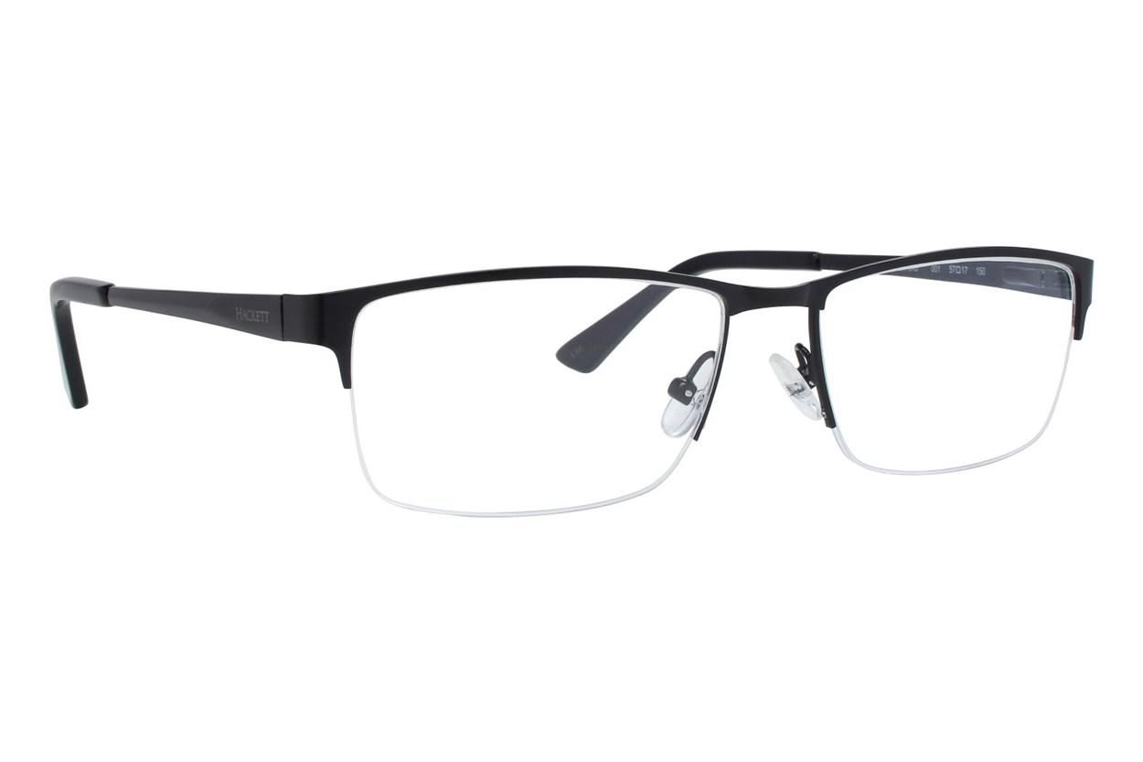 Hackett London Large Fit HEK1243 Black Eyeglasses