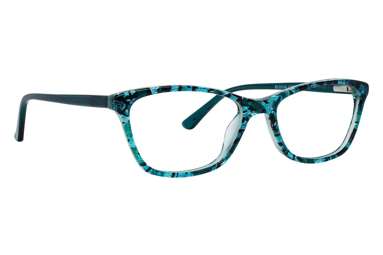 Bloom Optics Petite Mia Green Eyeglasses