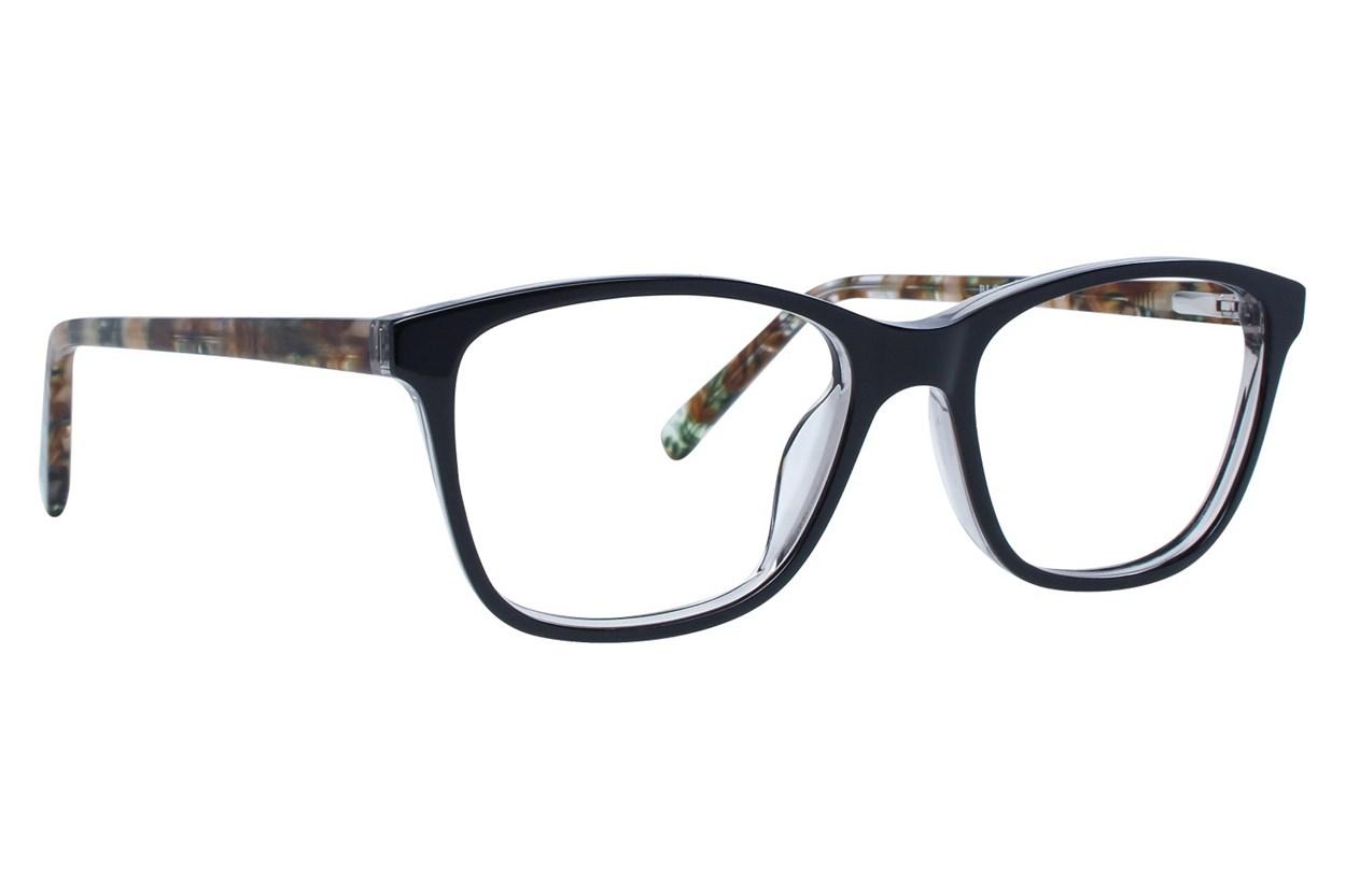 Bloom Optics Petite Megan Black Eyeglasses