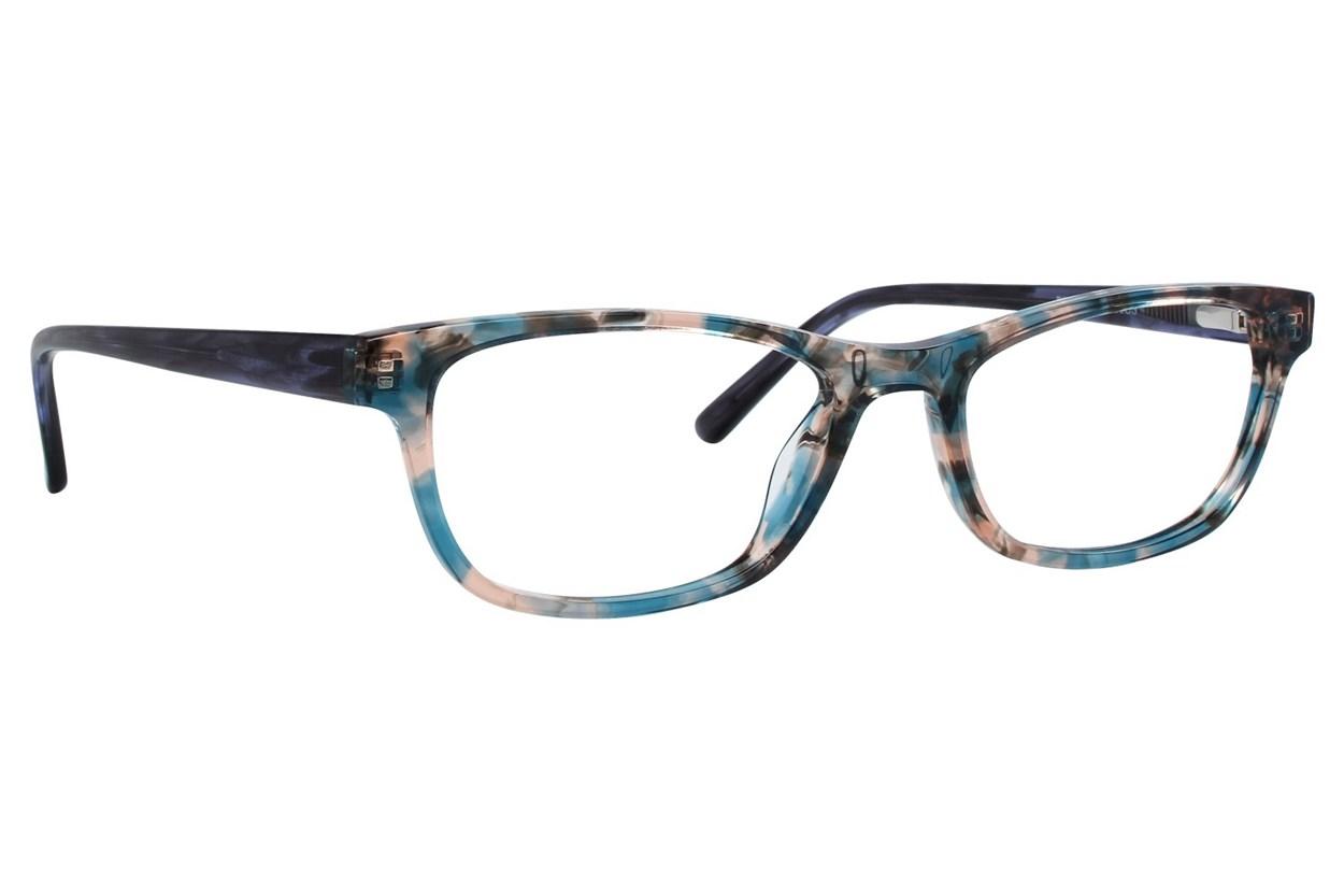 Bloom Optics Petite Dana Blue Eyeglasses