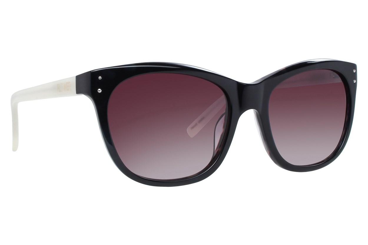 Flower Eyewear Sophie Black Sunglasses