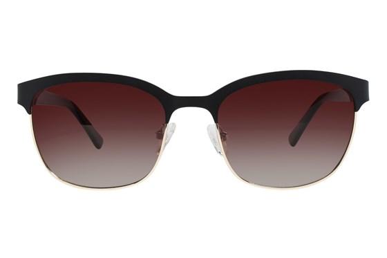 Flower Eyewear Sheila Black Sunglasses