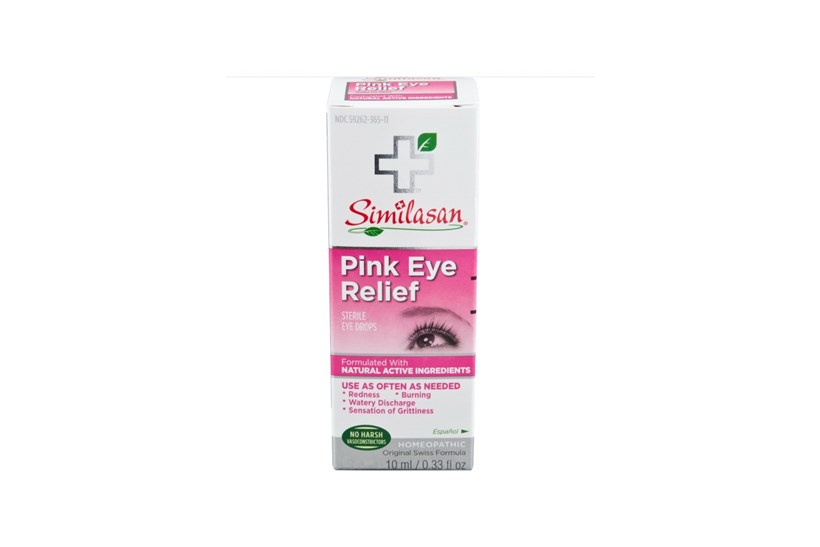Similasan Pink Eye Relief Drops 33 Fl Oz Dry Amp Red