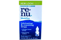 Renu MultiPlus Contacts Lubricating & Rewetting Drops (.27 fl. oz.)