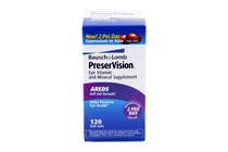 Bausch and Lomb PreserVision Soft Gels Eyecare Vitamins and Supplements (120 ct.)