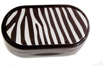 Zebra Designer Contact Lens Case