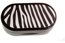 Zebra Designer Contact Lens Case