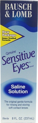 Buy This Sensitive Eyes Saline (8 oz) Here