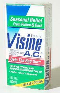 Buy Visine Seasonal Relief (30mL), Contact Lens Accessory online.