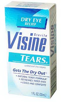 Buy Visine Tears (30 mL), Contact Lens Accessory online.