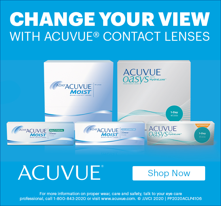 Shop Acuvue Contact Lenses