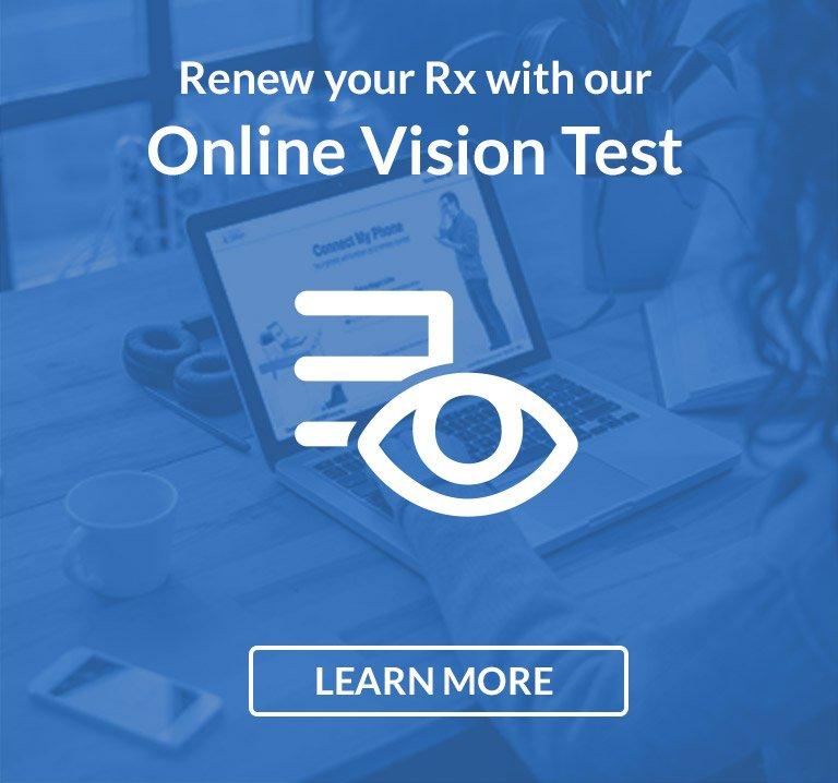 Renew Your Rx with Online Vision Test