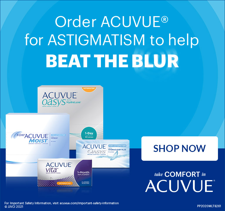Shop Acuvue for Astigmatism