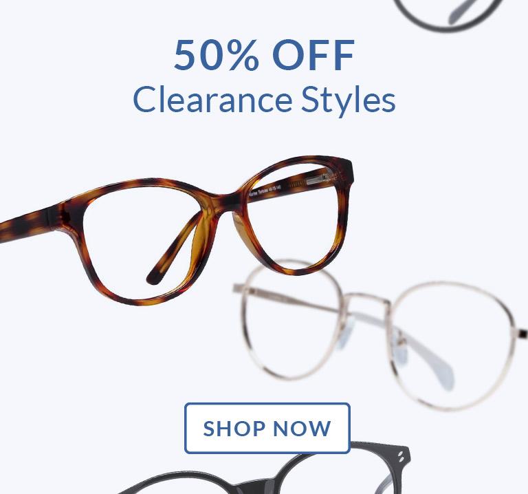 Shop Clearance Frames